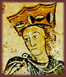 The marriage of Eleanor of Aquitaine to Henry ...