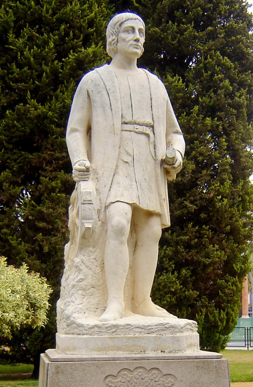 Estatua de Alonso Sánchez de Huelva