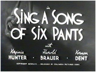 English: Title card from the Three Stooges sho...