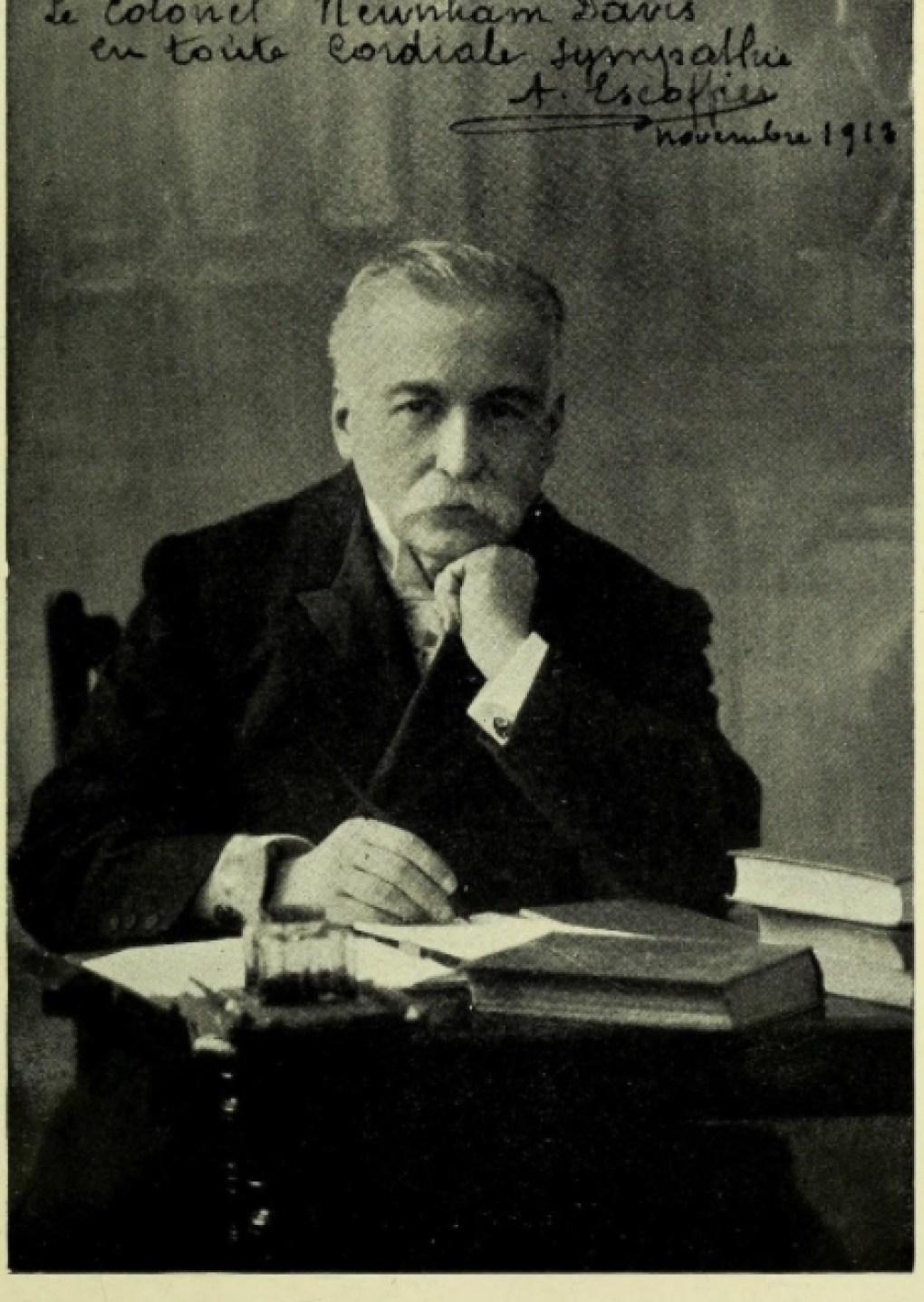 Auguste Escoffier, Source: Wikimedia Commons - Public Domain