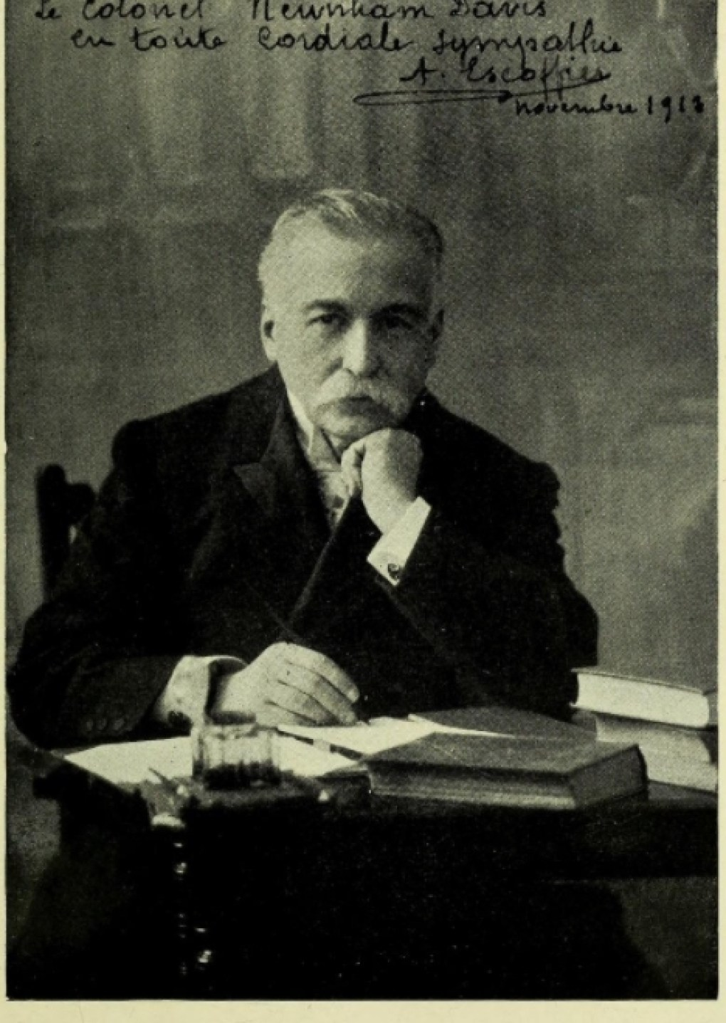 """a biography auguste escoffier born in the village of villeneuve loubet france Escoffier was born on october 28, 1846, in a small village called villeneuve- loubet, near the city of nice, france  one of his most important books, """"le  guide culinaire"""" is a staple in learning french cuisine (biography."""