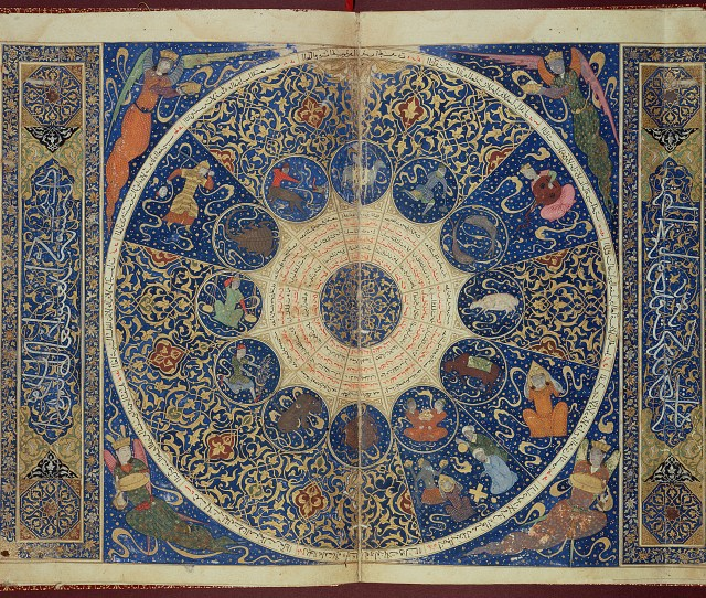 Fileuse L Horoscope From The Book Of Birth Of Iskandar Wellcome L
