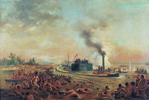 Ficheiro:Victor Meirelles - ESTUDO PARA PASSAGEM DE HUMAITÁ - 1868-1870.jpg