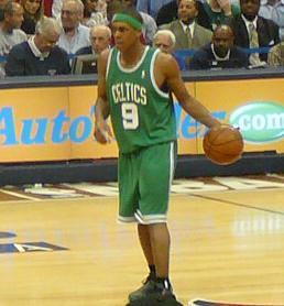 Rajon Rondo, the 21st pick of the Boston Celtics