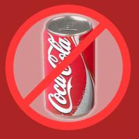 No Coca cola