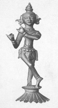 Nederlands: Anoniem. Krishna met fluit (Krsna ...