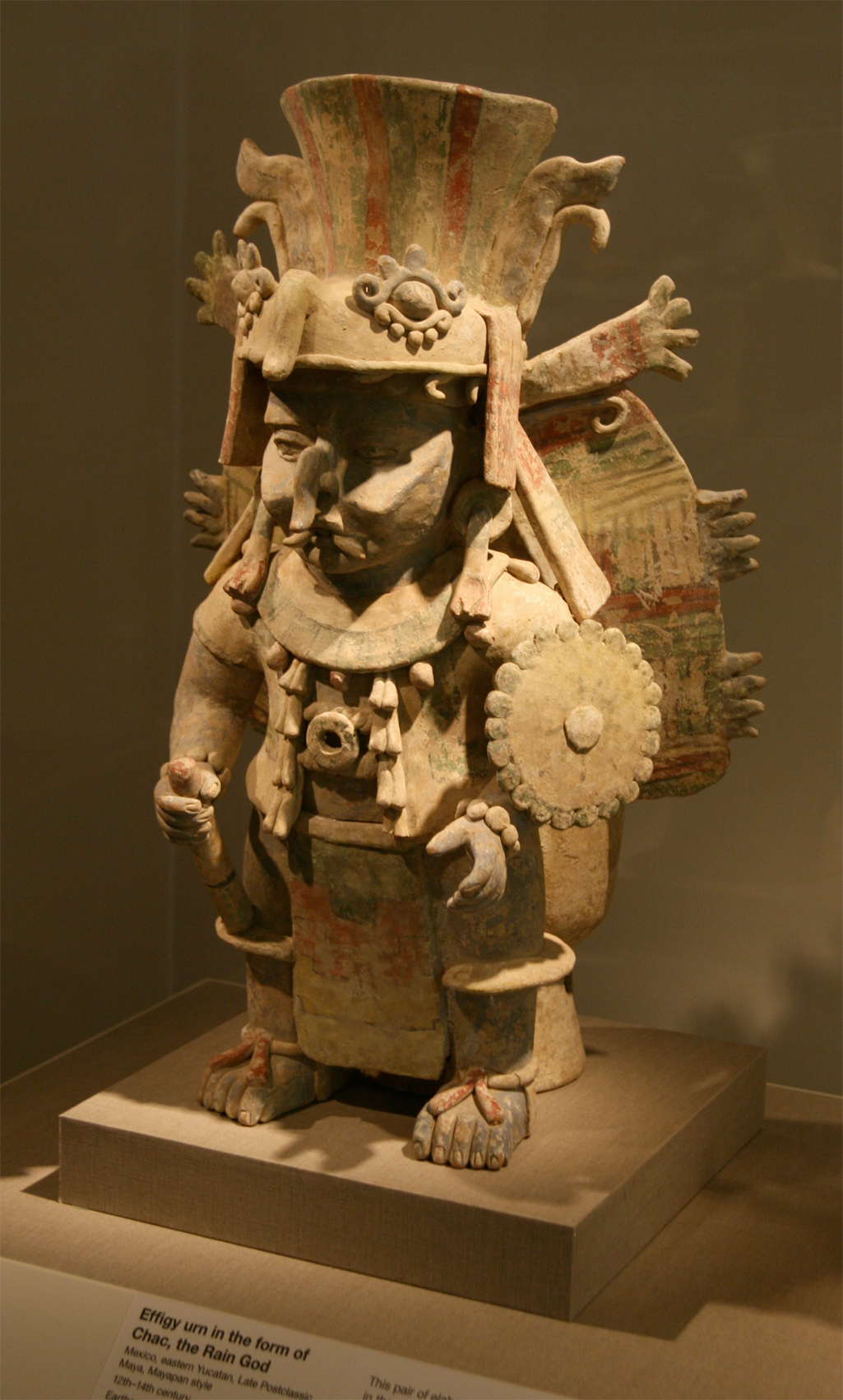 Chac-Mayan God of Rain