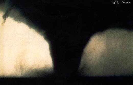 A tornado near Seymour, Texas