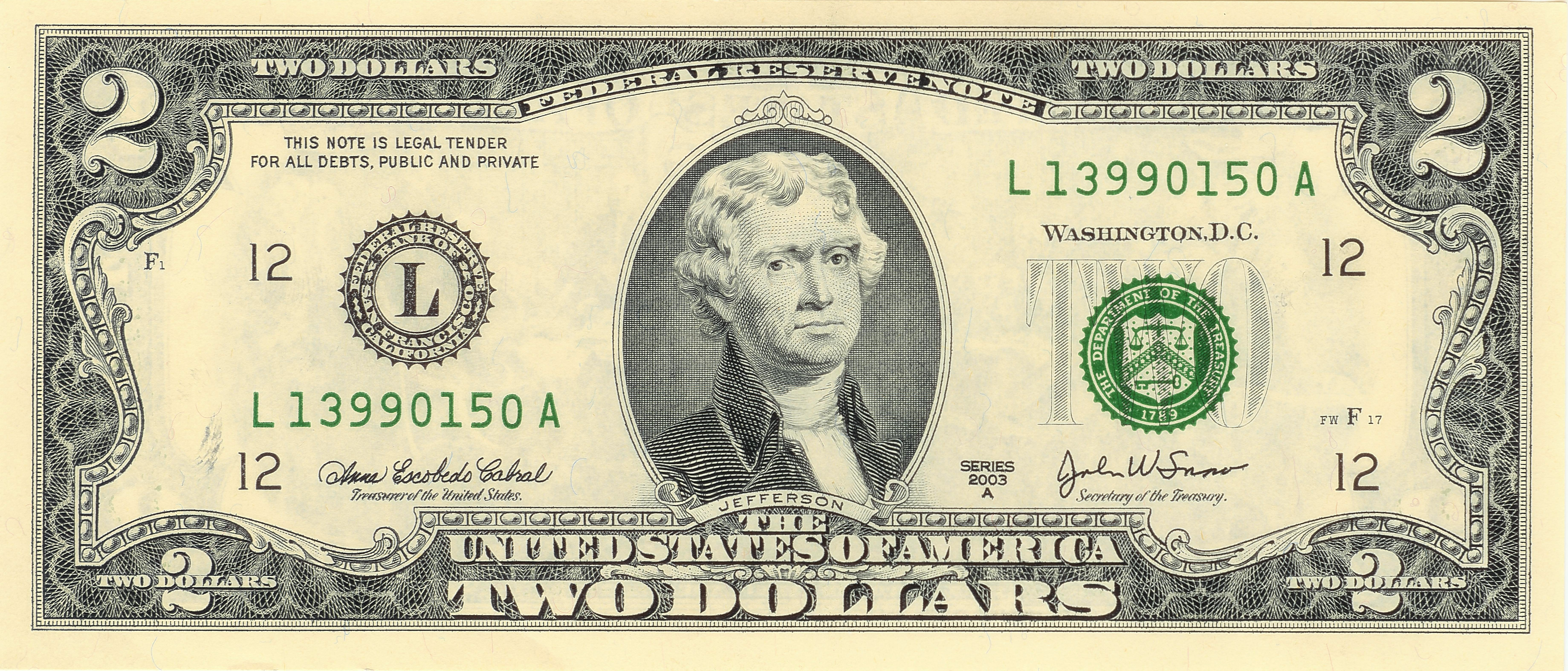 Money Faces On Us Currency