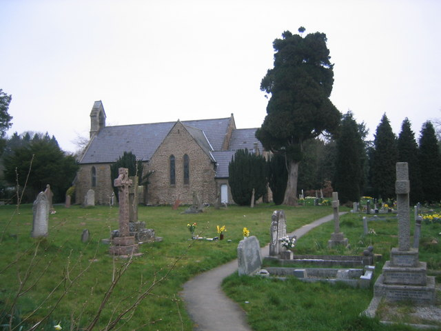 Photo of Holy Trinity parish church, Far Forest