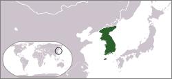 Vị trí của Cao Ly