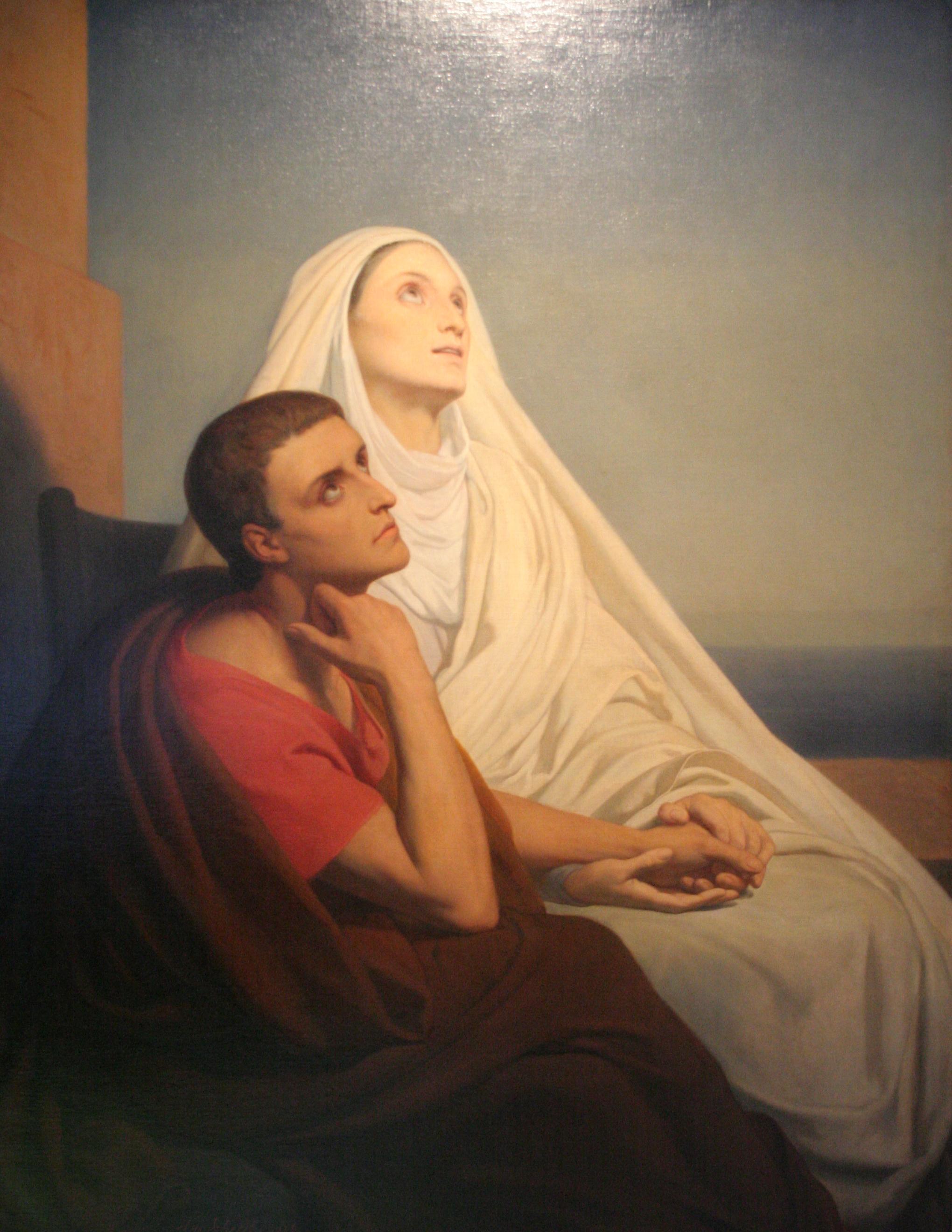 Saint Augustin et Sainte Monique