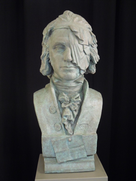 Bust of Thomas Muir by Alexander Stoddart (on permanent exhibition at Bishopbriggs library)