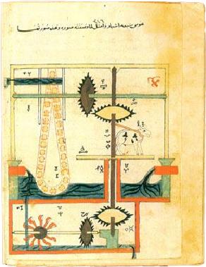File:Al-Jazari Automata 1205.jpg