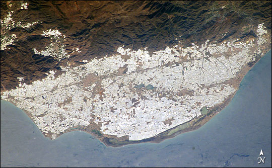 Greenhouses of Almeria