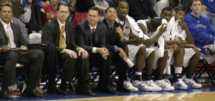 Lessons Learned in Tough Times - Basketball team bench