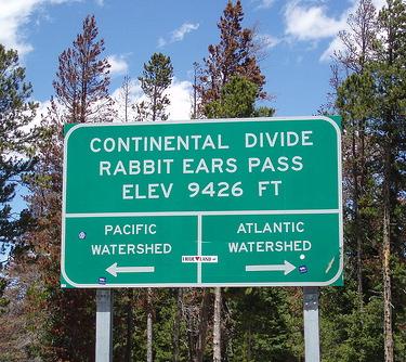 Continental Divide Rabbit Ears Pass