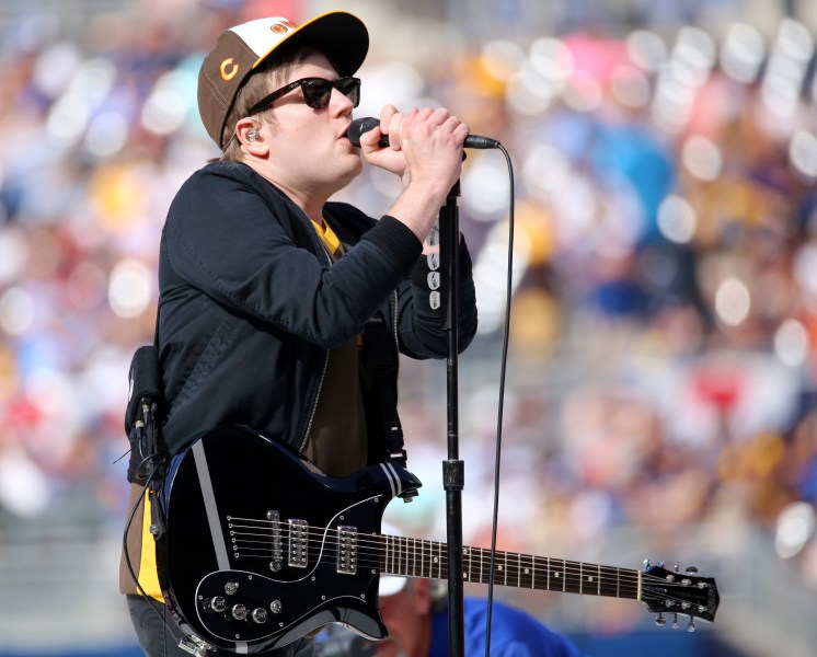 Patrick Stump   Wikipedia Fall Out Boy s Patrick Stump performs to open the 2016 T Mobile  HRDerby