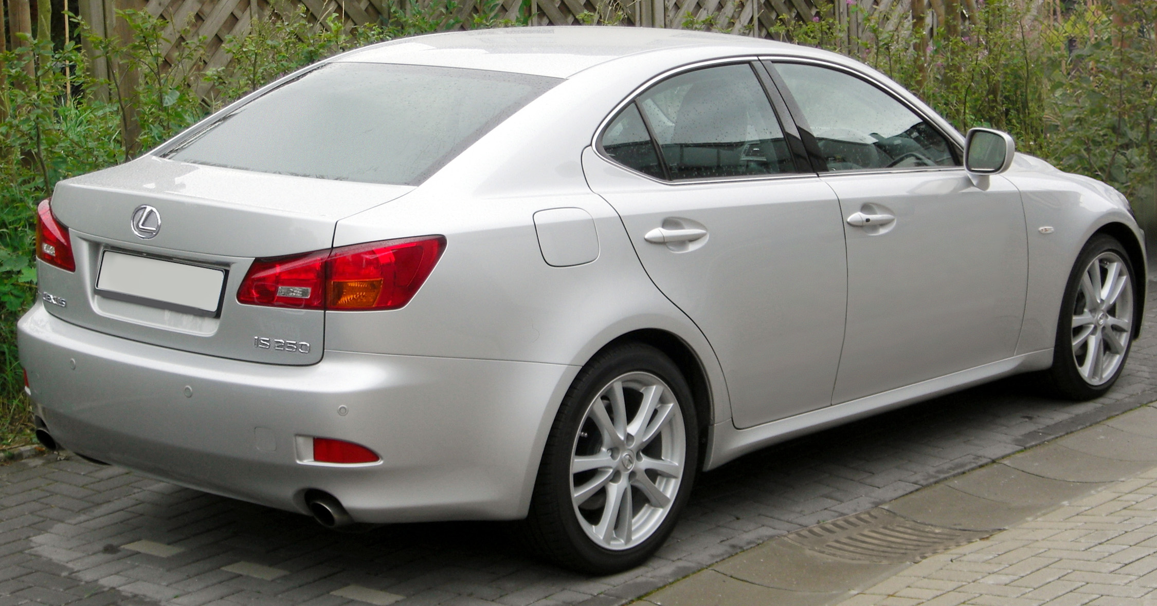 File Lexus IS250 2008 Tungsten aft Wikimedia mons