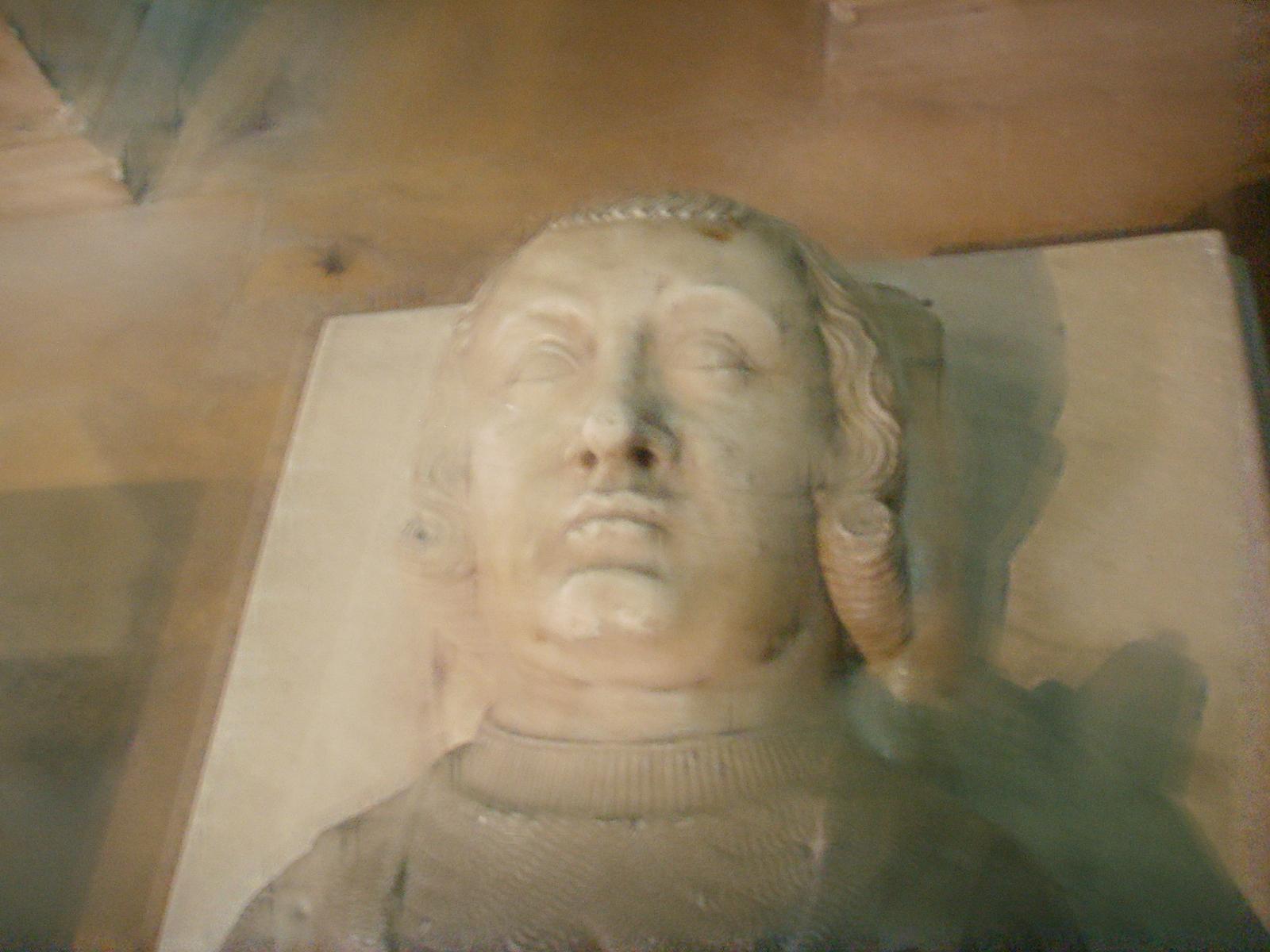 Kopf der Statue von Karl I. von Valois in St. Denis (Grab)