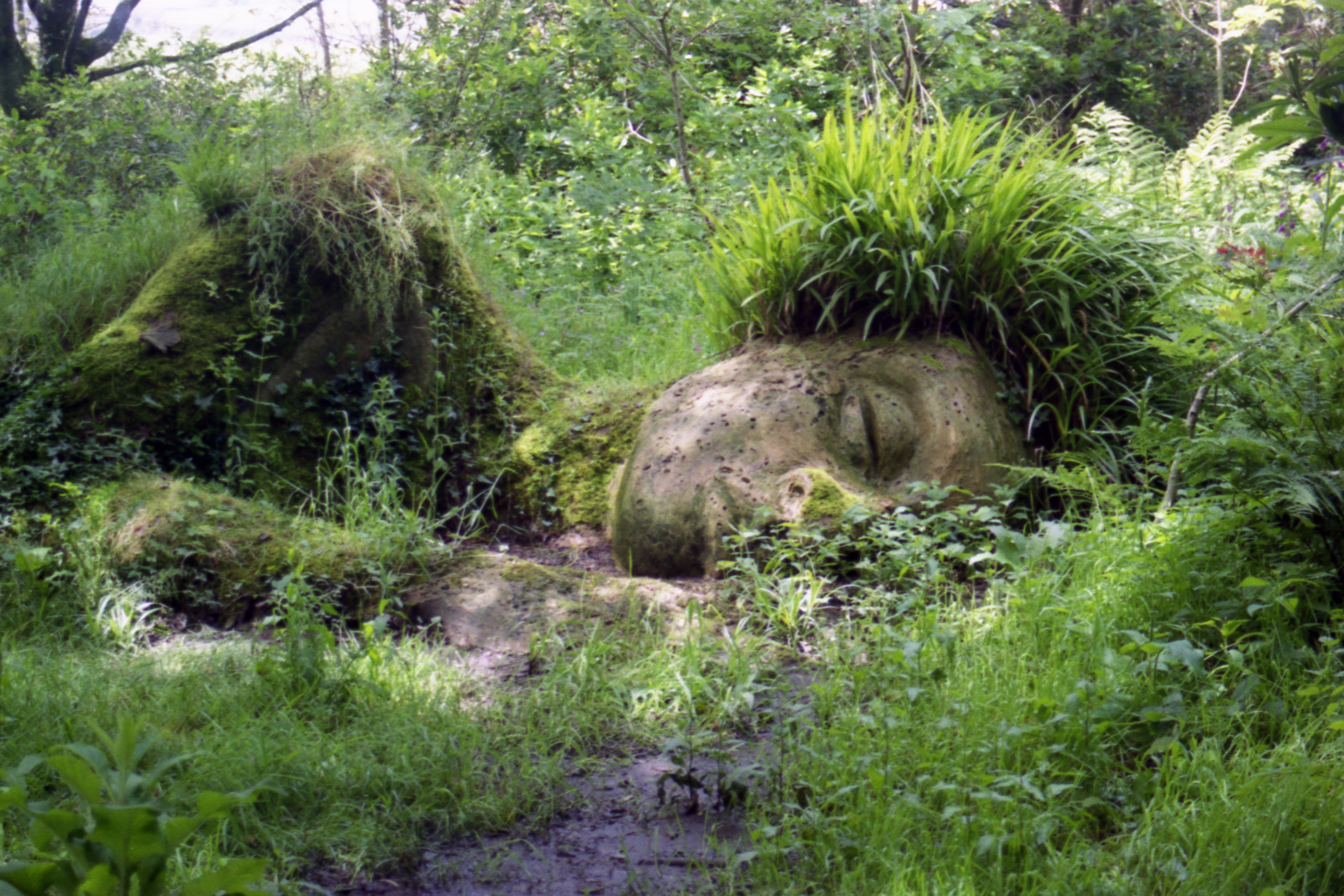 Sleeping Mud-maid, Lost Gardens of Heligan