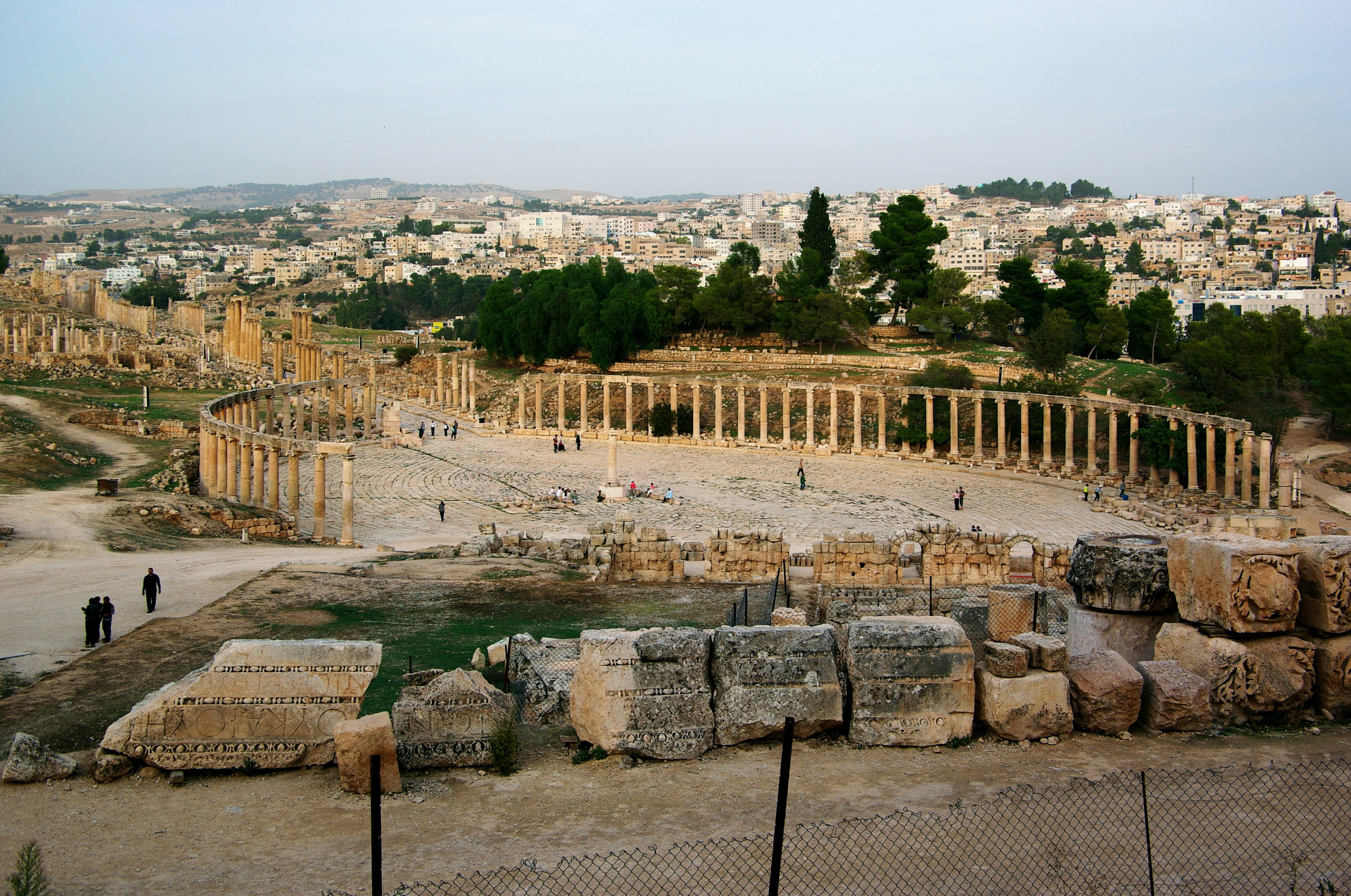 Jerash, Oval forum.