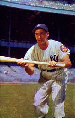 English: New York Yankees shortstop in about 1953.