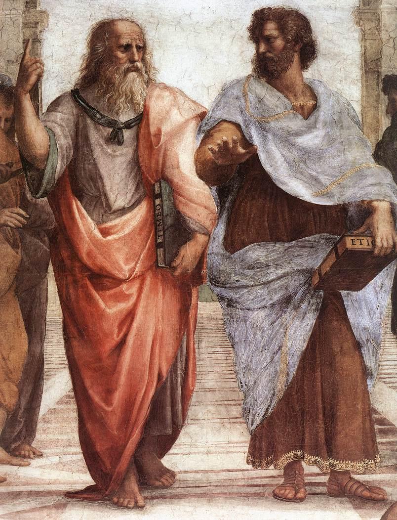 Aristoteles och Platon