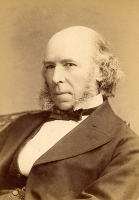 Herbert Spencer, an English philosopher and po...