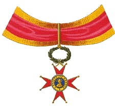 Insignia of the Pontifical Equestrian Order of...