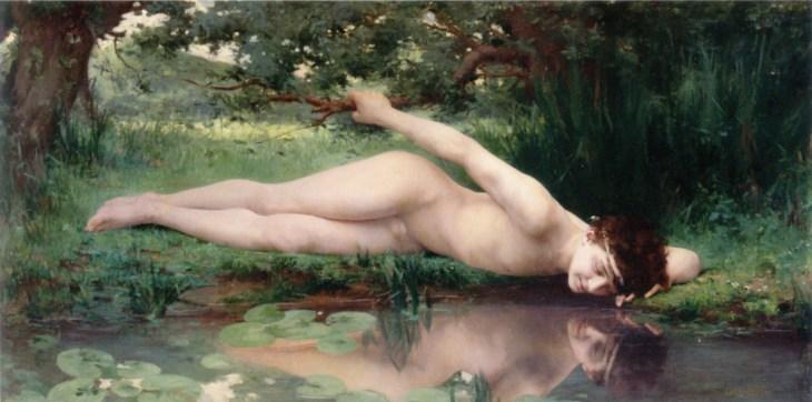 Narciso (Narcissus) via Wikimedia Commons