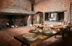 Clever Medieval Kitchen That Will Motivate You To Workout