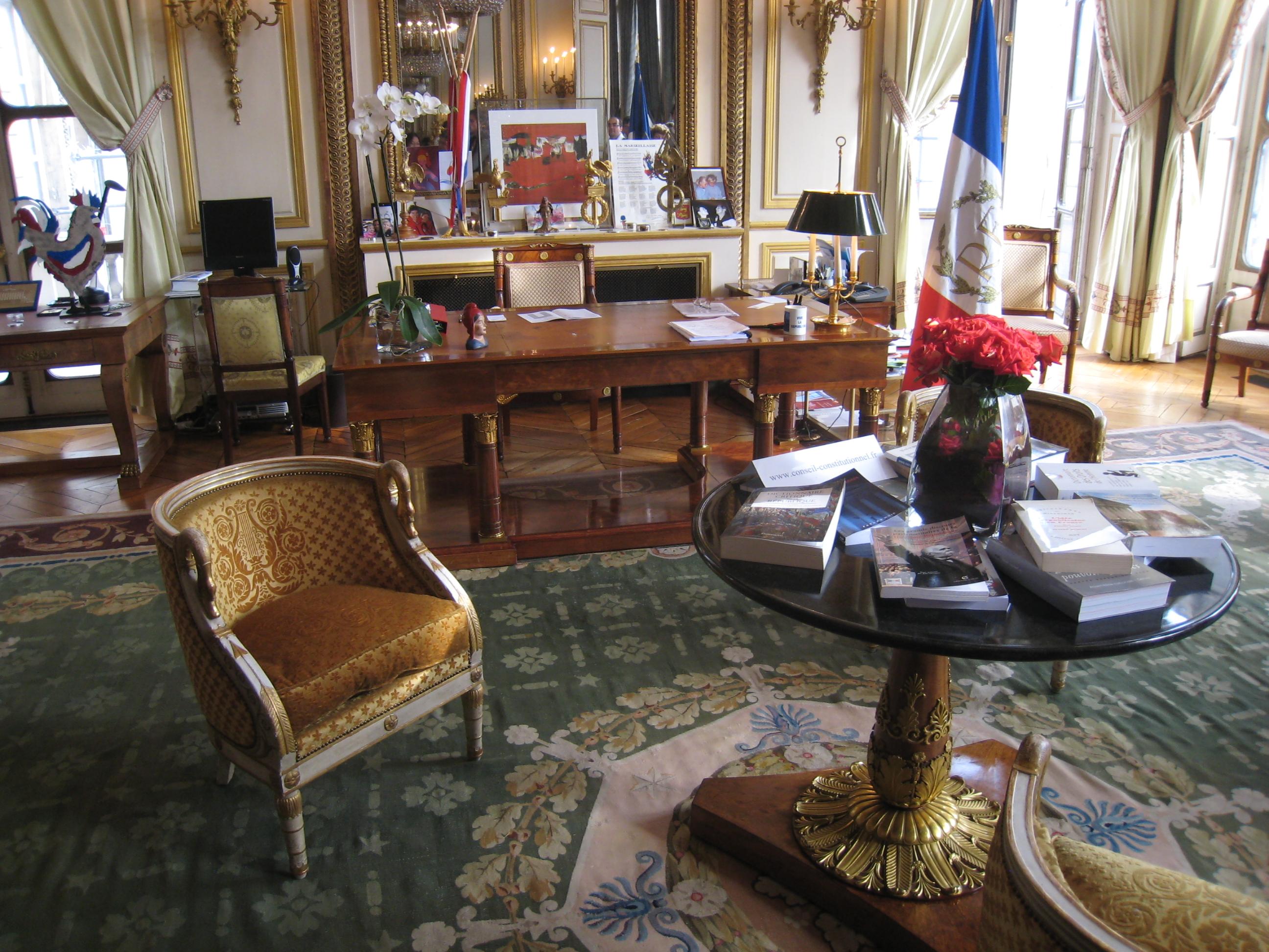 file conseil constitutionnel france bureau du president jpg