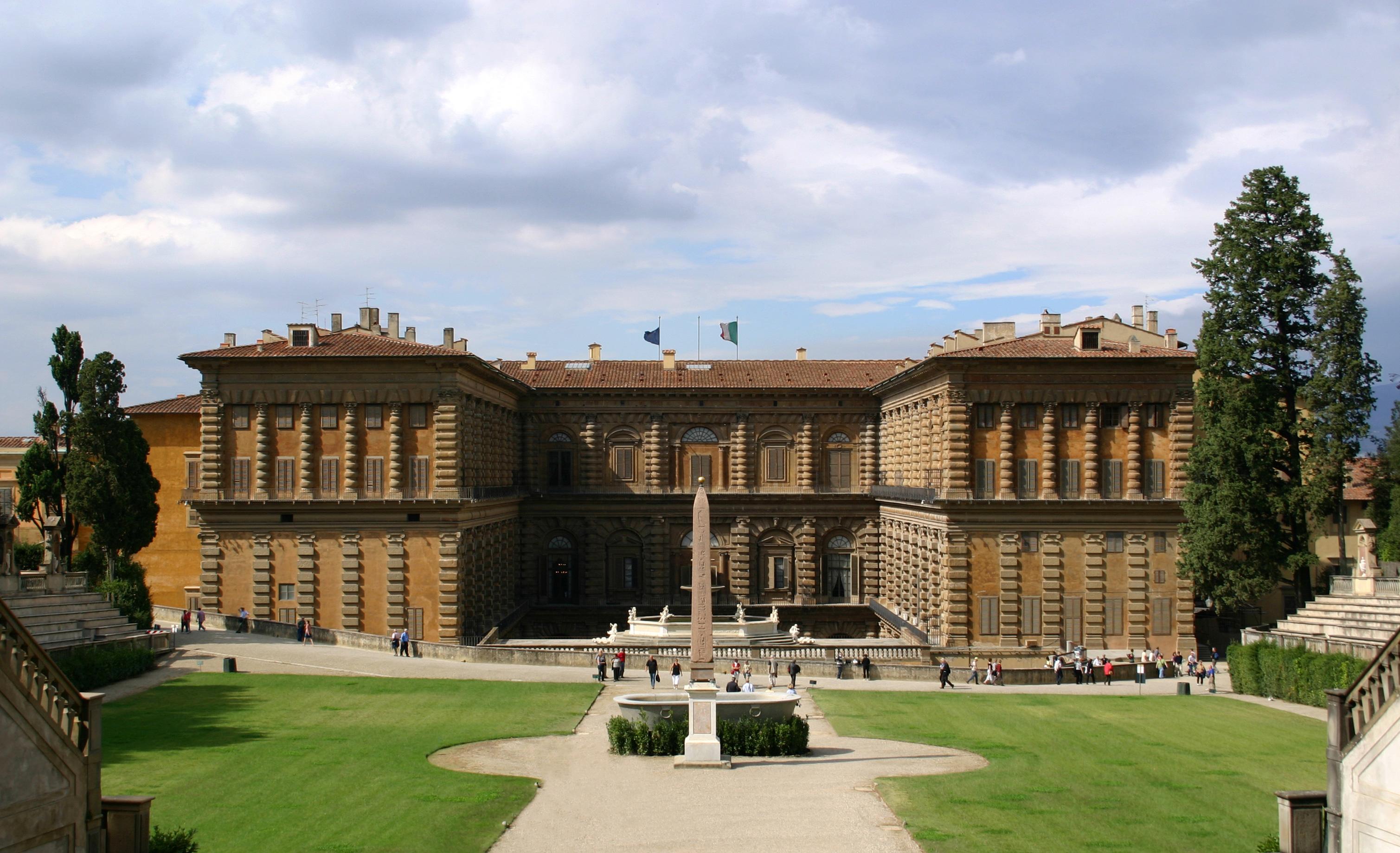 Le Palais Pitti à Florence