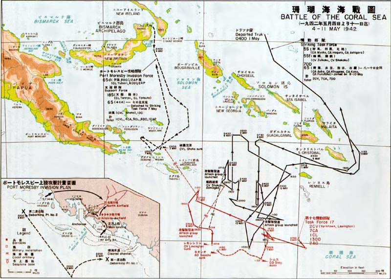 Schlacht Im Korallenmeer Wikipedia