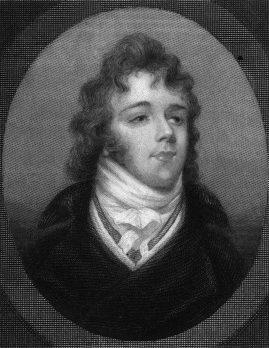 Brummell, engraved from a miniature portrait