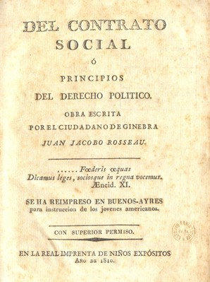 "English: Book ""The Social Contract"" ..."