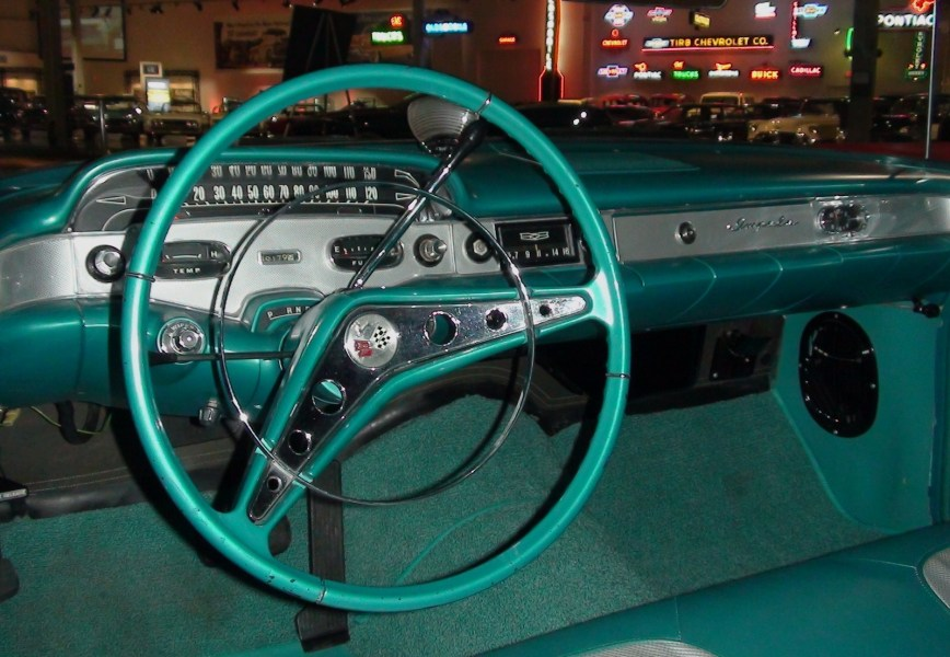 1958 chevrolet cars » File GM Heritage Center   016   Cars   1958 Impala Interior jpg     File GM Heritage Center   016   Cars   1958 Impala Interior jpg