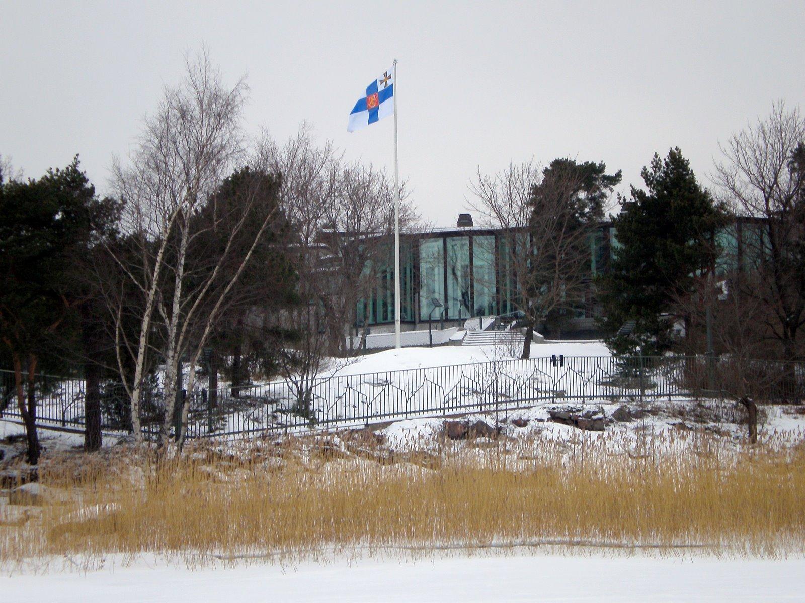 Mäntyniemi, of Talludden, de ambtswoning van de Finse president (foto via WikiMedia Commons)