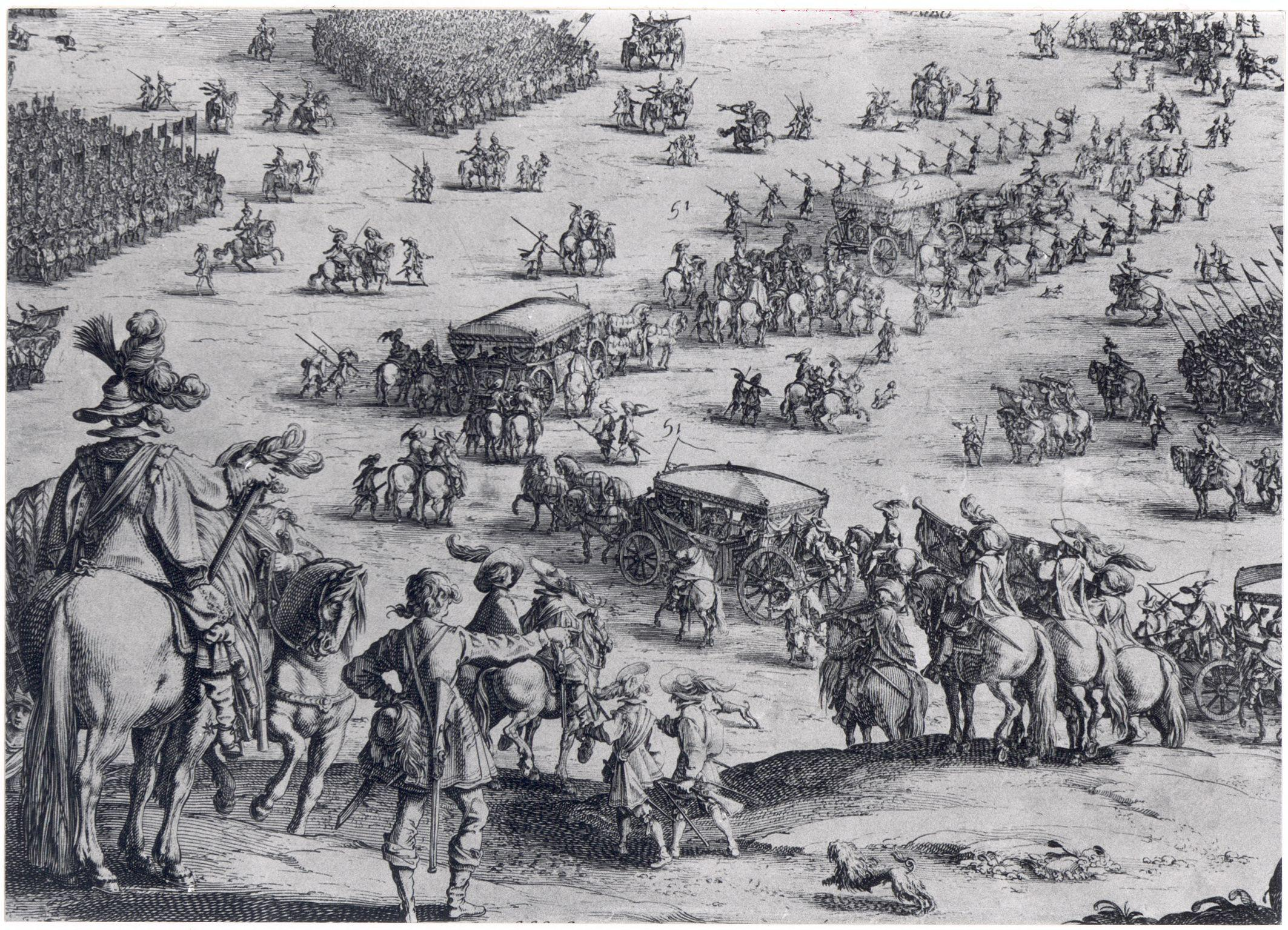 Engraving of the Siege of Breda from http://st...