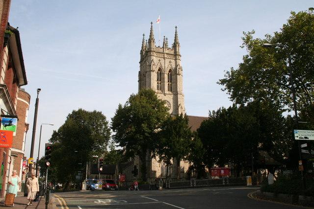 File:St. George's Parish Church, Beckenham, Kent - geograph.org.uk
