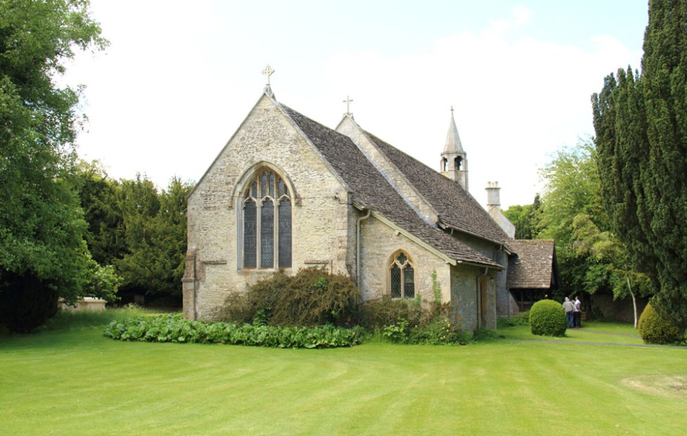 St Swithin's parish church, Quenington, Gloucestershire