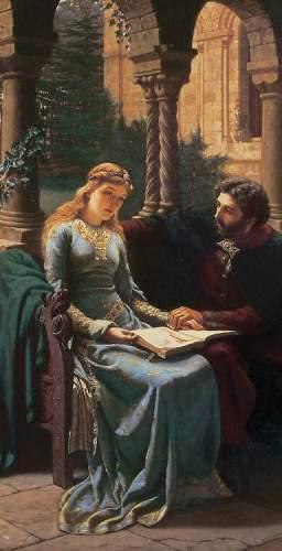 Edmund Blair Leighton - Abaelard Und Seine Schülerin Heloisa