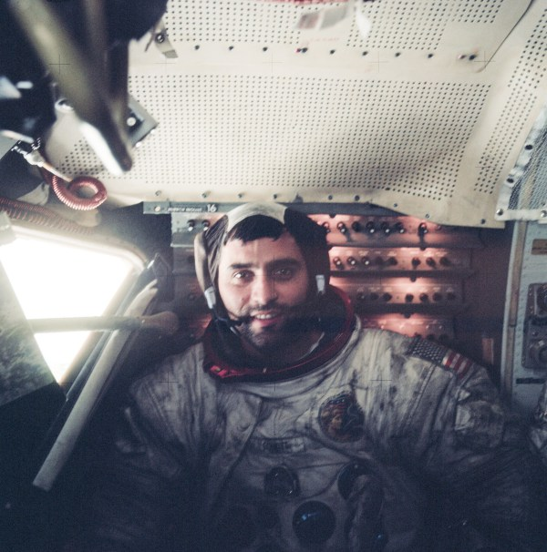 File:Harrison Schmitt inside LM on surface, Apollo 17.jpg ...