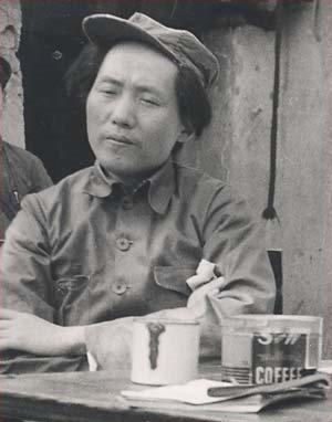 File:Mao Zedong in Yan'an.jpg