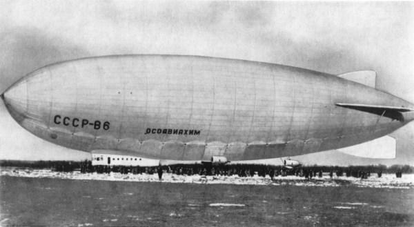 Soviet and Russian airships - Wikipedia
