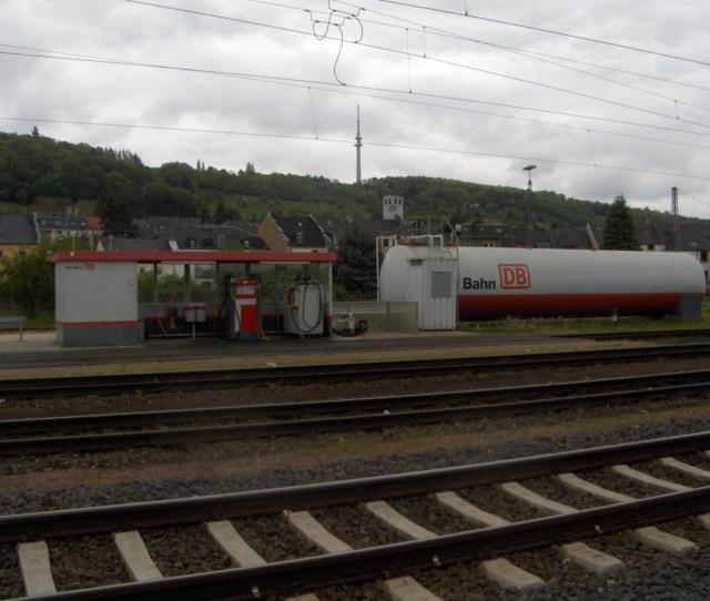 Filebahnbetriebswerk Trier Diesel Station 2010 Jpg