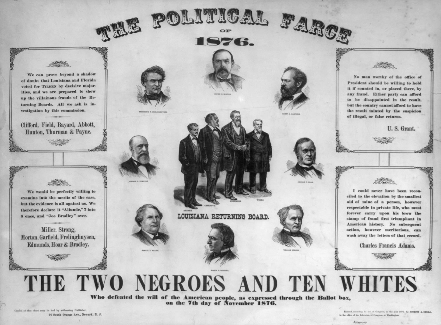One Side of the Controversy of the Election of 1876
