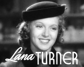 Cropped screenshot of Lana Turner from the tra...