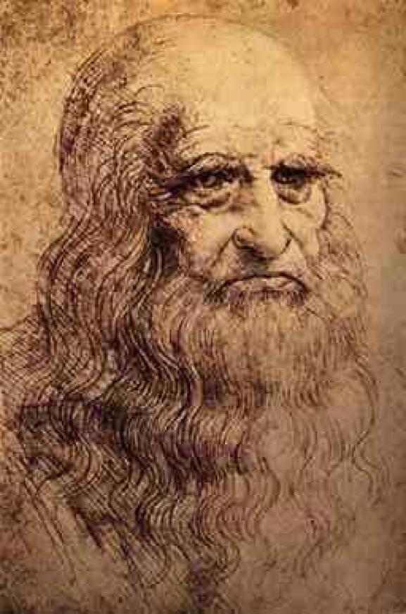 Possible Self-Portrait of Leonardo da Vinci